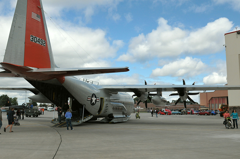 LC-130 Plane Photo at Stratton ANGB Family Day